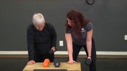 Strength Training for Older Adults Part 2: Upper Body Major Lifts