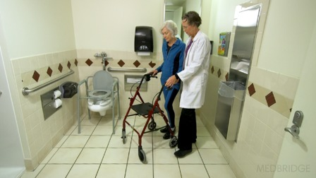 Reducing Fall Risks Associated with Toileting