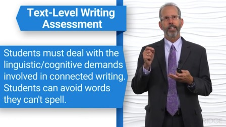Assessment of Spelling and Word-Level Reading