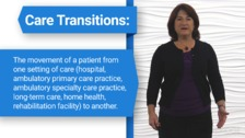 Nursing's Role in Care Transitions from Acute Care to Post-Acute Care