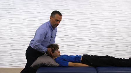 Treatment of Pediatric and Adolescent Neck Pain