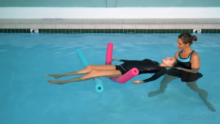 Aquatic Therapy for the Pregnant Client