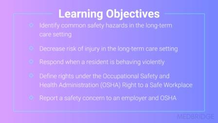 NA: Workplace Safety and OSHA