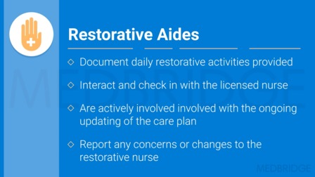 Restorative Nursing Regulations and Documentation Requirements