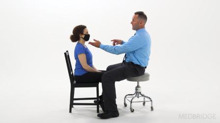 Vestibular Examination: Oculomotor Testing