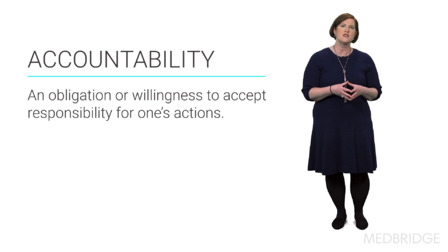 Managing for Accountability: Accountability Starts With You