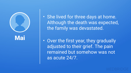 Pediatric Palliative Care and Hospice: Grief and Bereavement