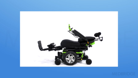 Wheelchair Power Mobility Assessment: Power Seating