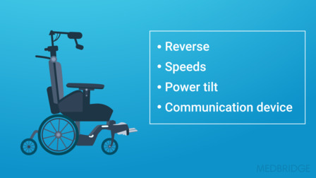Wheelchair Power Mobility: Advanced Features