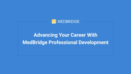 Getting Started with MedBridge Courses and Certificates