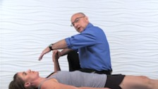 Waterfall Stretch to the Anterior Shoulder