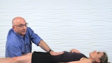 Supine Lumbosacral Decompression Stretch