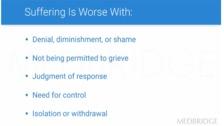 Suffering and Non-Attachment