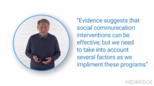 Efficacy of a Social Communication Approach