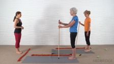 Standing and Towel Exercises