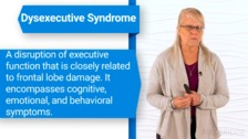 Intervention for Impairments in Executive Function