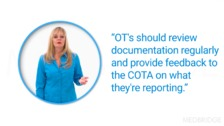 Working Together: COTAs and OTRs in HH