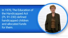 Legislation and Community Services for Children and Youth with Special Health Care Needs