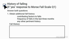 Enhancing Clinical Assessment of Fall Risk Factors