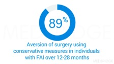 Current State of the Evidence regarding Conservative treatment of FAI syndrome