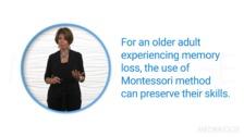 Montessori-Based Dementia Programming