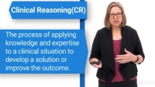 Clinical Reasoning in Occupational Therapy