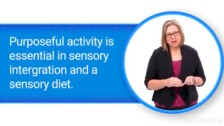 Context of Sensory Diet as an OT Intervention