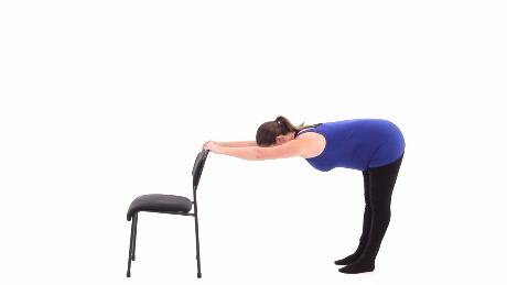 Standing Thoracic Spine Stretch