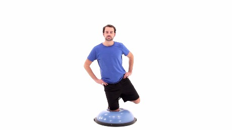 BOSU® Ball Single Leg Kneel
