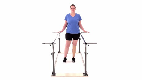 Lateral Weight Shift with Parallel Bars (BKA)