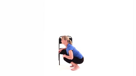 Deep Squat with Pelvic Floor Relaxation